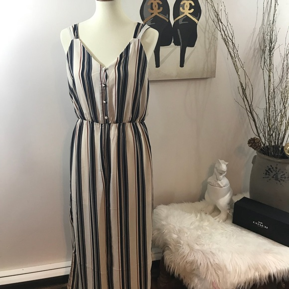 2be969065573 Sienna Sky Striped Jumpsuit